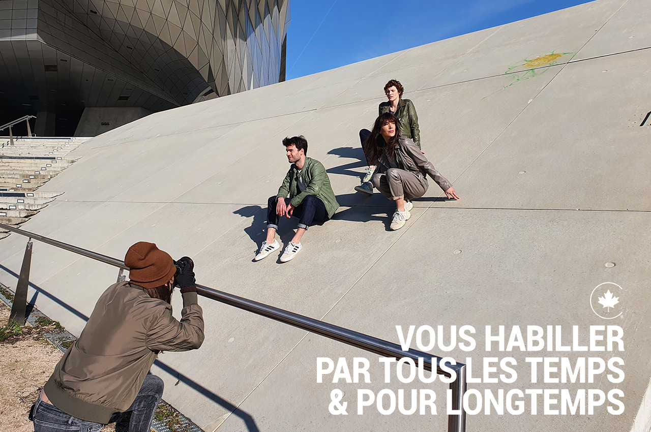La Canadienne Making Of Printemps Eté 2021