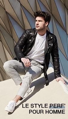Les vestes style perfecto pour Homme aux meilleurs prix